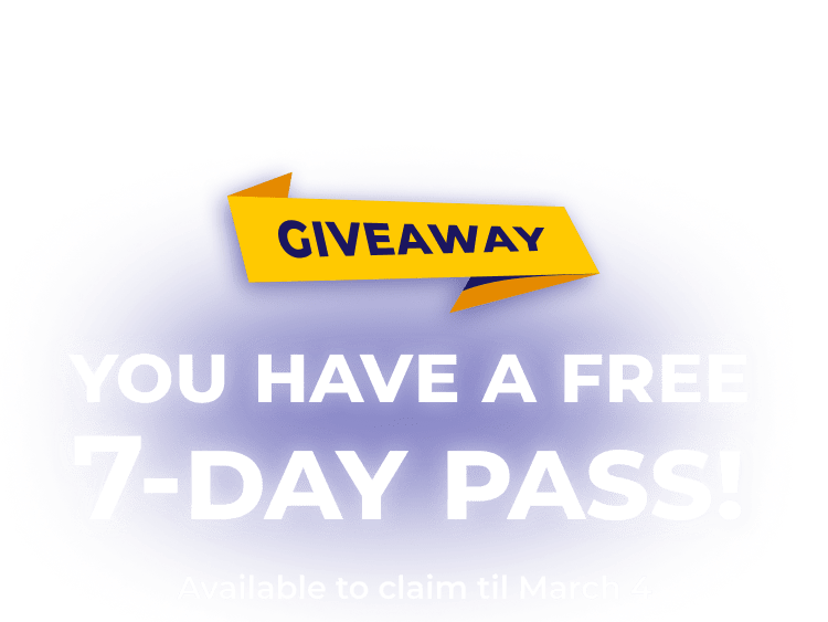 February Pass Giveaway